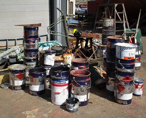 Island Junk Solutions - Paints and Chemicals removal