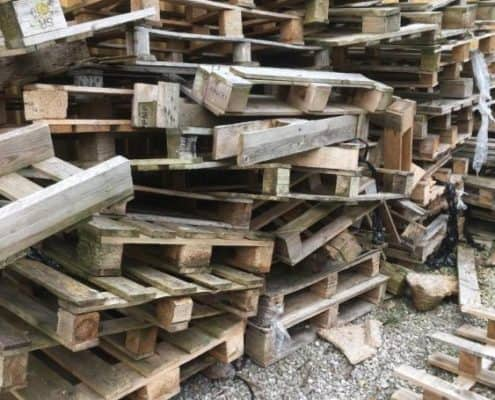 Island Junk Solutions - pallet removal