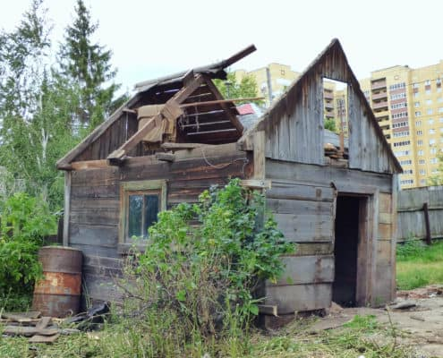 Island Junk Solutions - Shack for small demolition in Victoria BC