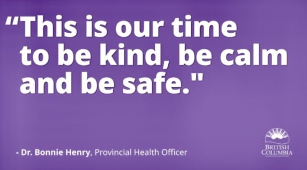 Be kind to each other during the COVID-19 crisis